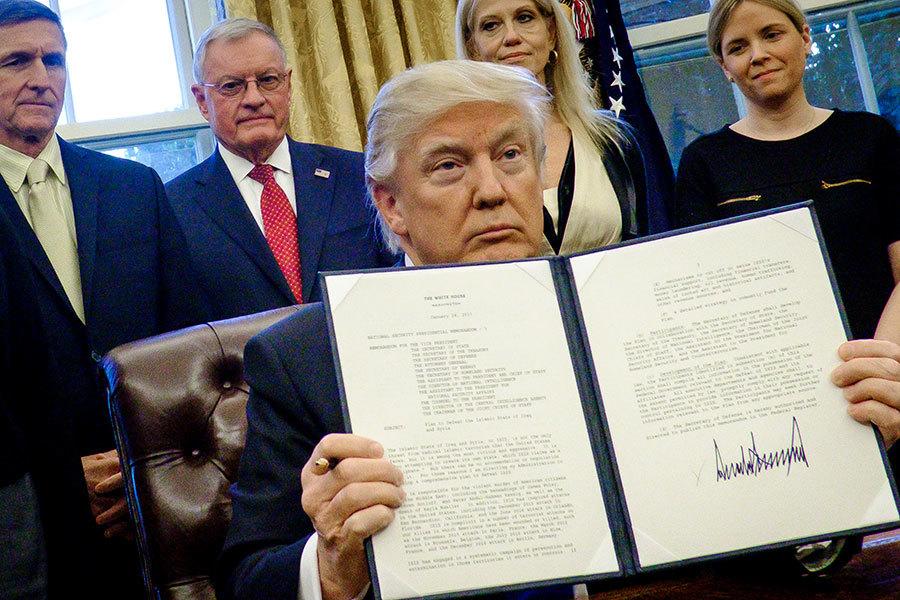 特朗普發佈人權惡人制裁名單 北京官員上榜