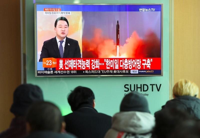 北韓導彈試射處距大陸僅五十餘公里