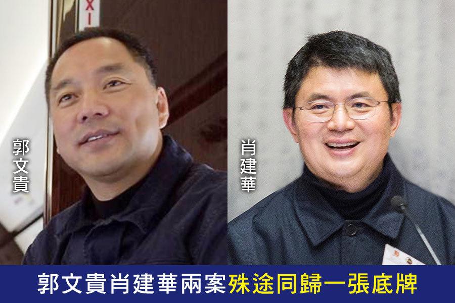 陳思敏:郭文貴肖建華兩案殊途同歸一張底牌