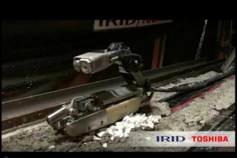 機械人探測福島核電站反應爐 卡在廢墟中