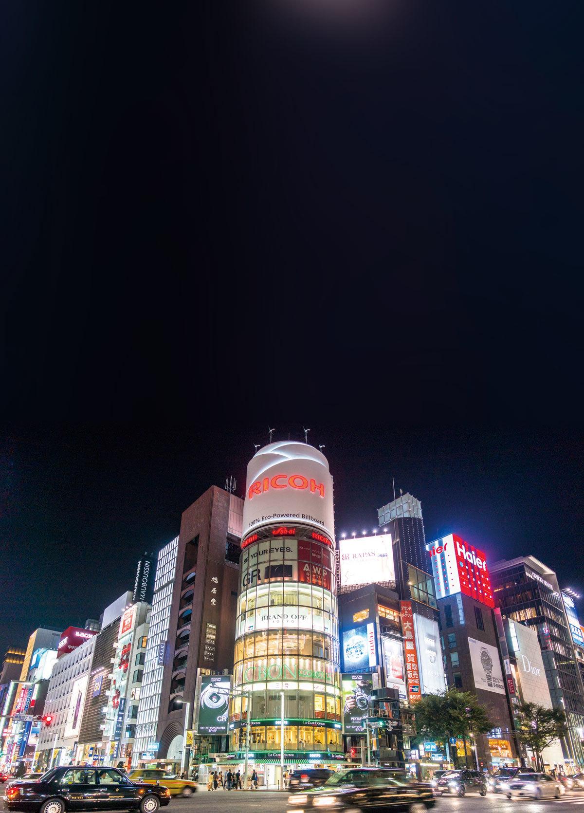 銀座:奢華商區 世界聞名