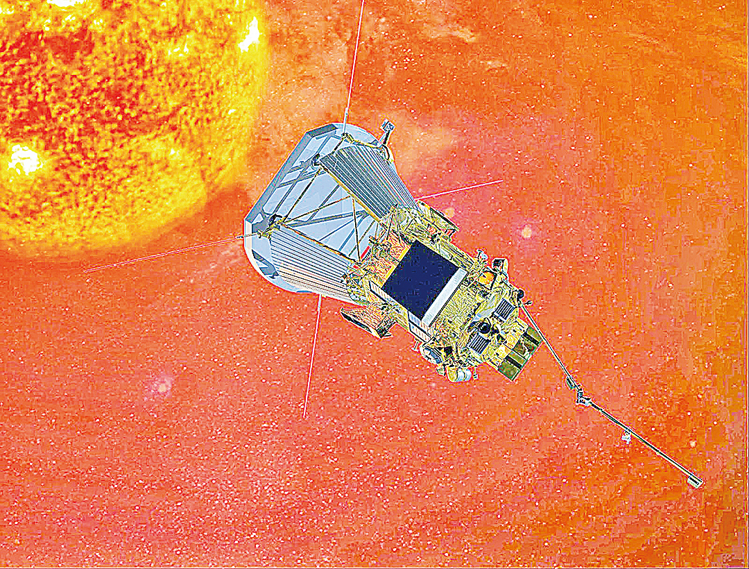 NASA飛船近距離探測太陽