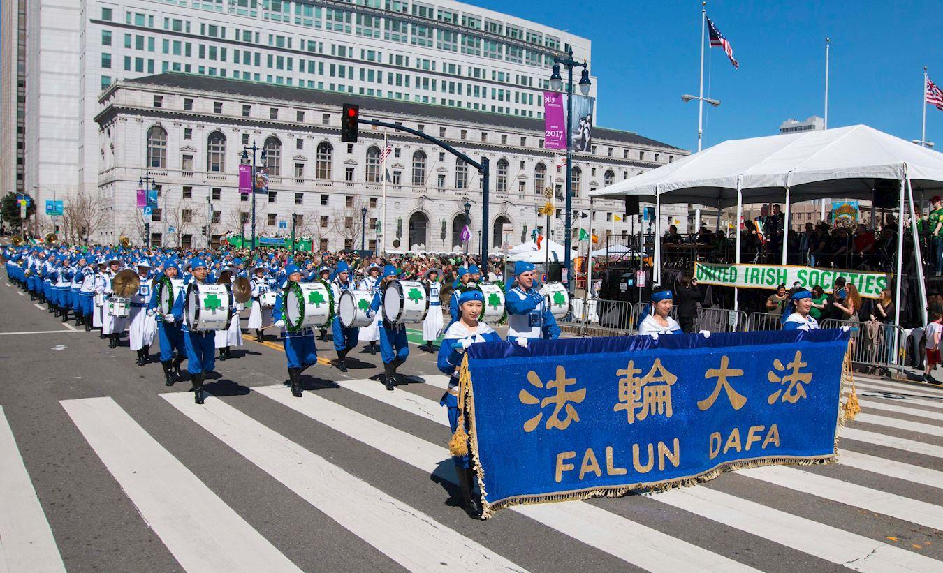 三藩市聖派翠克遊行 遊行組織者:完美震撼!感謝天國樂團