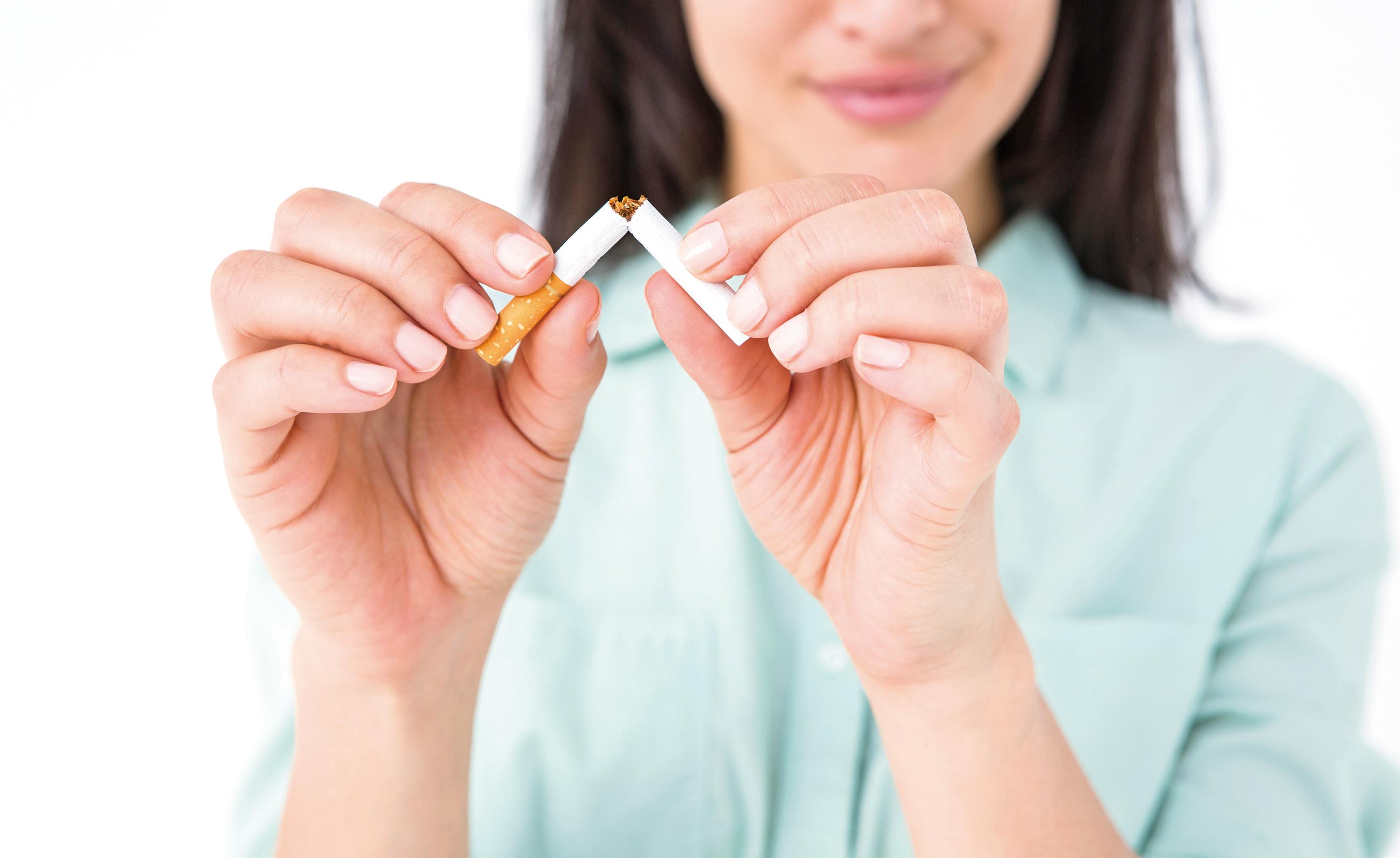 戒不掉的煙癮?