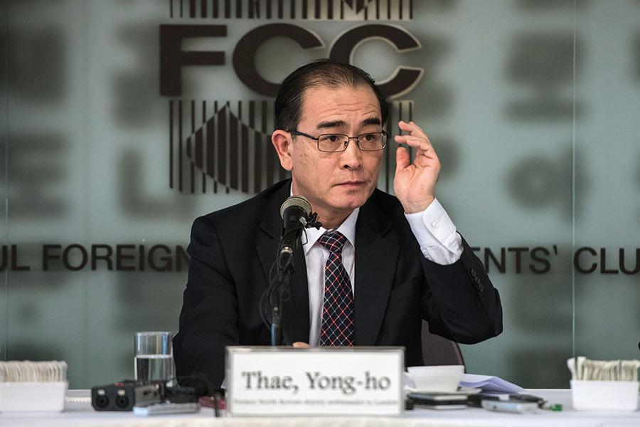 前北韓外交官:金正恩核試驗恐致北韓垮台