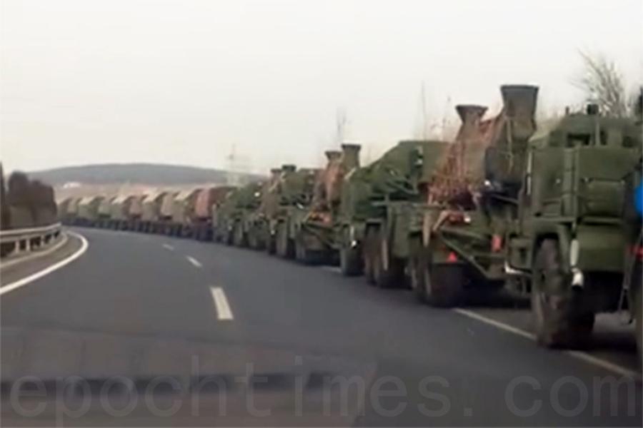 傳中共軍隊集結中朝邊境 疑與朝或核試有關