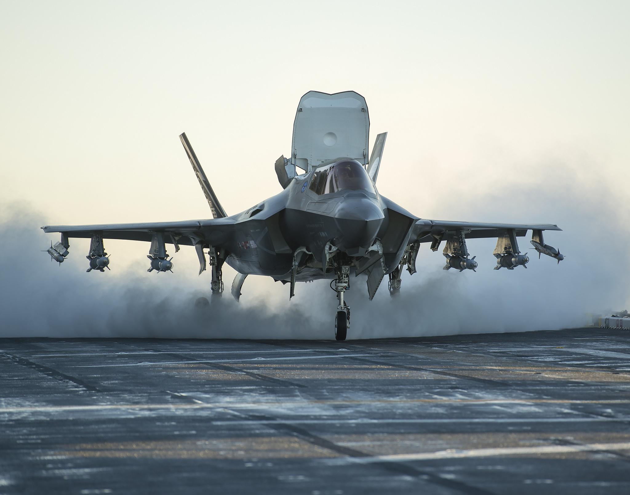 美將於亞太全面部署最先進F-35隱形戰機