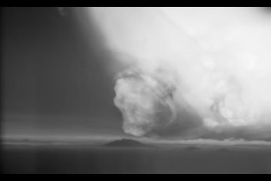 美國解密大量核爆影片 如毀天滅地景象