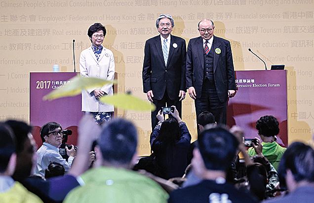 選舉倒數 最後關鍵一戰 林鄭:I am ready  曾:沒想過輸