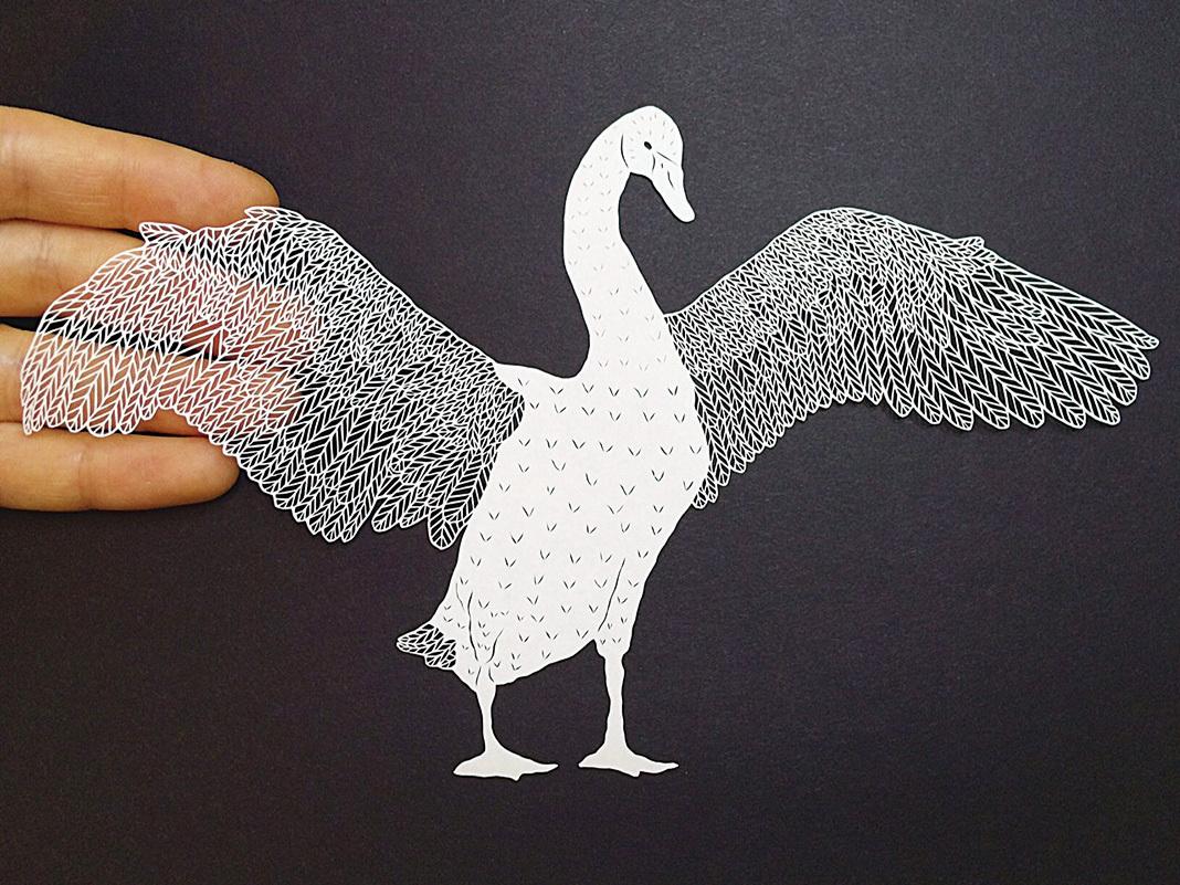 精美絕倫的紙藝創作欣賞