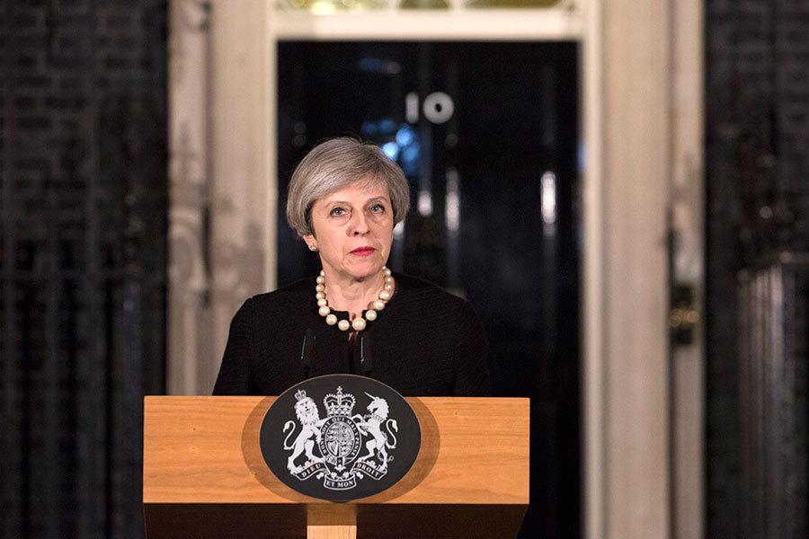 倫敦遭遇恐襲 文翠珊:決不向恐怖屈服