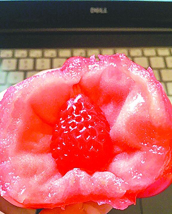 【圖片新聞】番茄裏有「士多啤梨」