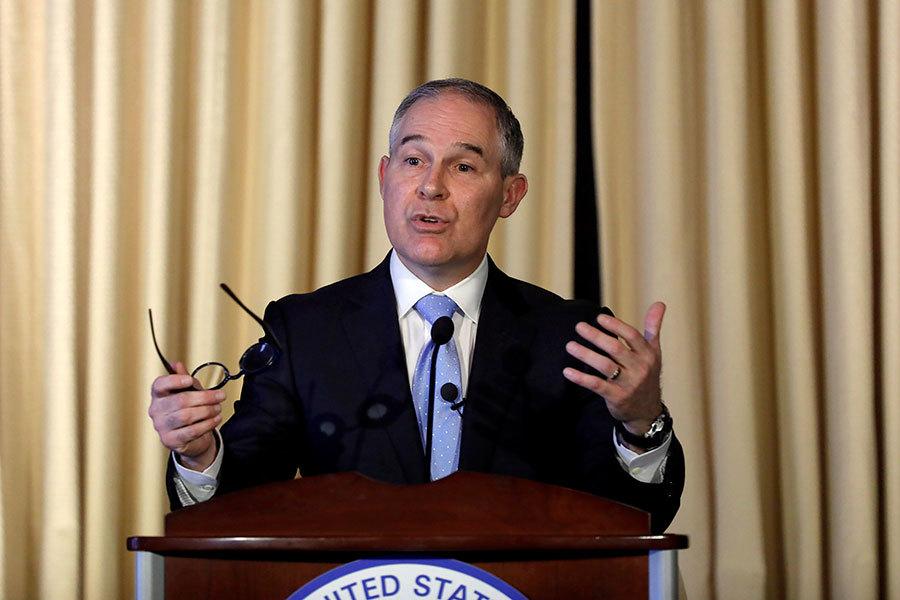 特朗普簽署行政令 廢除奧巴馬氣候變化政策