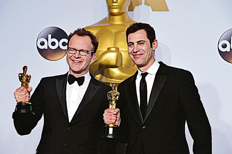 《焦點追擊》獲最佳影片、最佳原創劇本兩項大獎。(Getty Images)