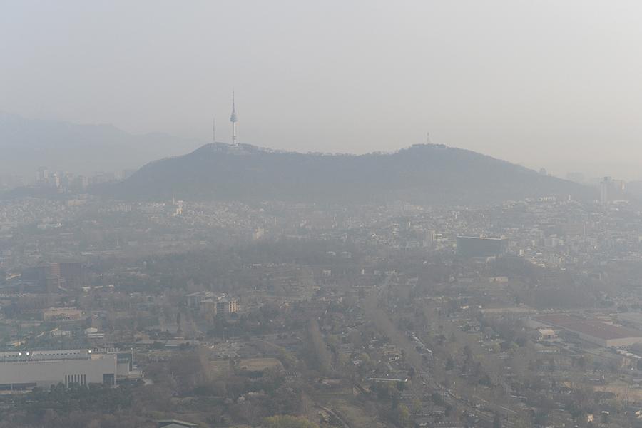 七名韓國人因陰霾控告中韓政府