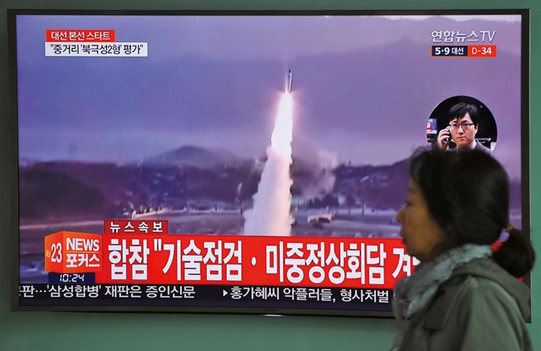 警告金正恩 南韓試射覆蓋北韓彈道導彈