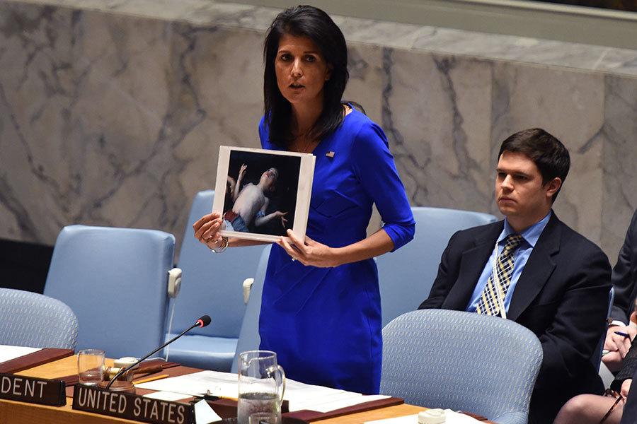 對敘利亞動武 特朗普有哪些選項?
