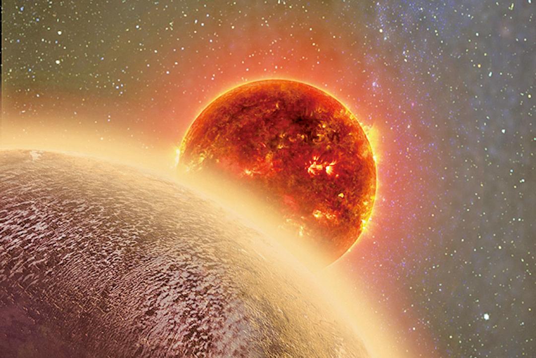 科學新發現類地行星有大氣層