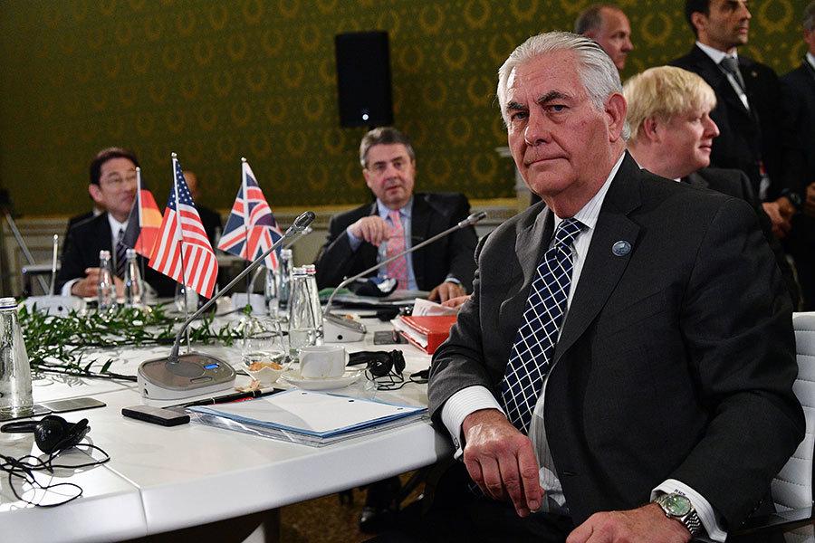 蒂勒森G7發最後通牒:俄羅斯必須做選擇