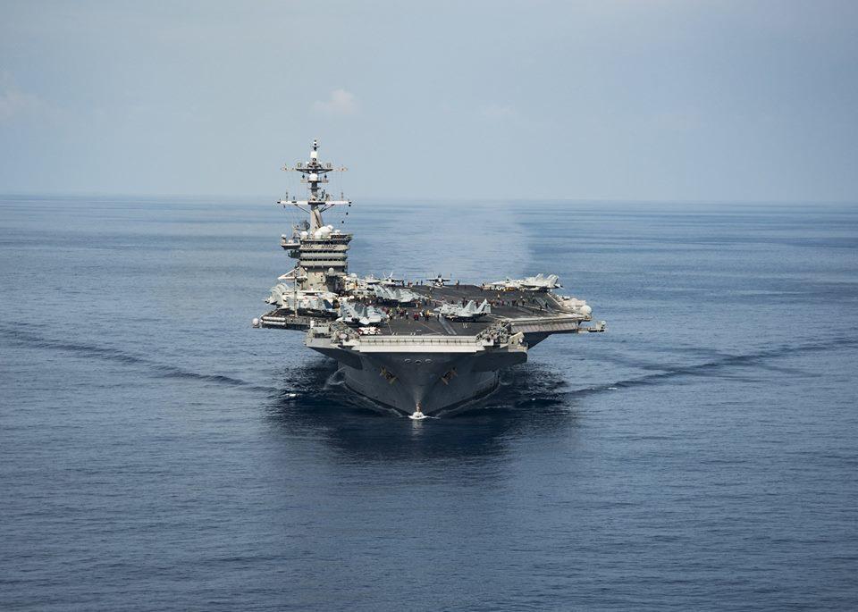 美軍司令:美航母能輕易抵禦北韓威脅