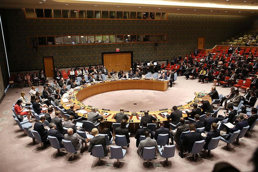 聯合國譴責北韓 中俄表決不一