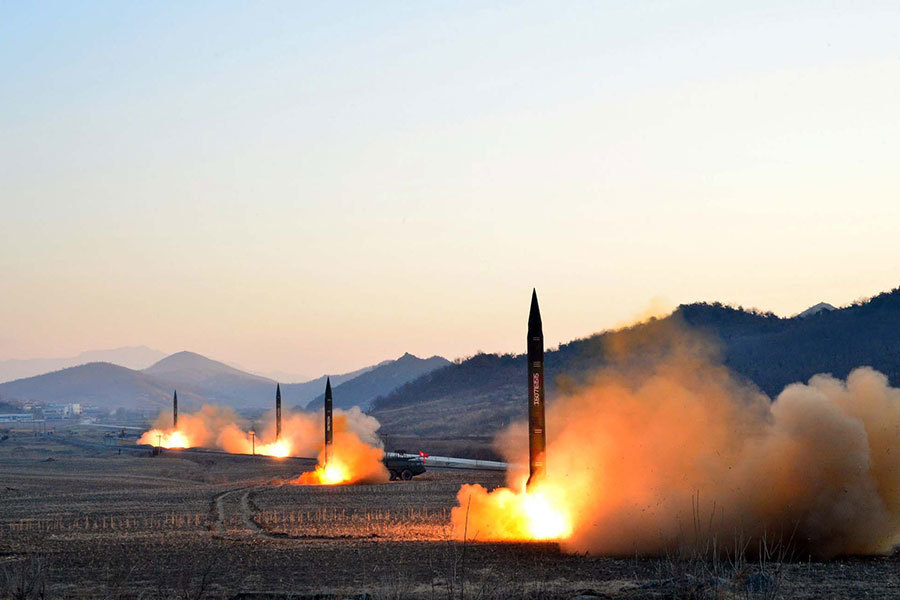 美媒曝朝高官講話:中國已被納入核武射程