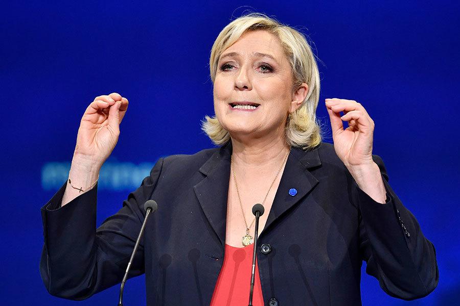 問鼎法國總統敗選 瑪琳勒龐轉戰國會議員