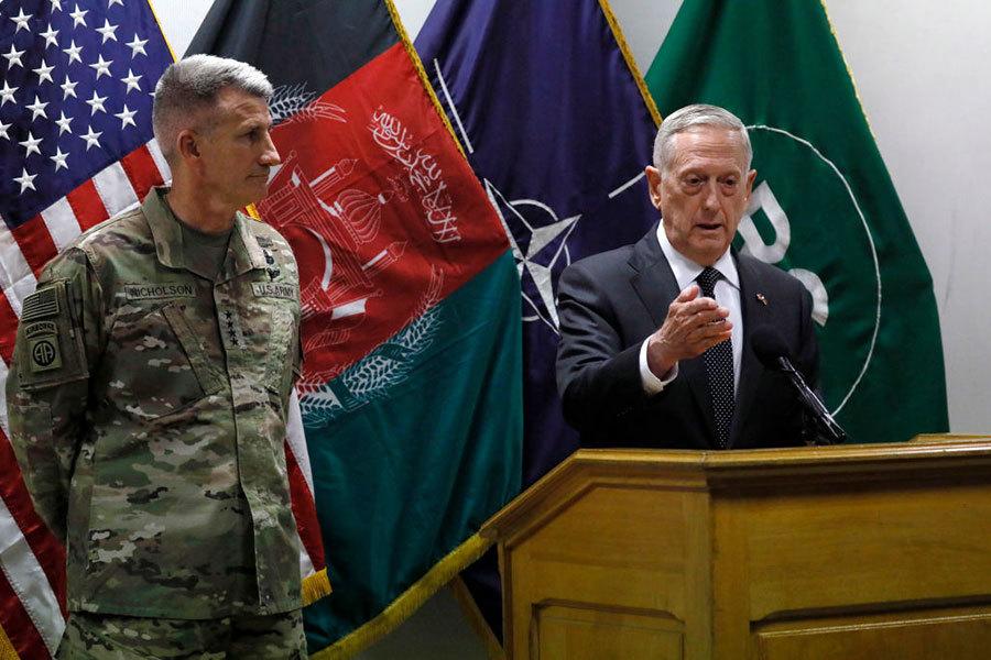 美防長馬蒂斯突訪阿富汗 評估是否增兵