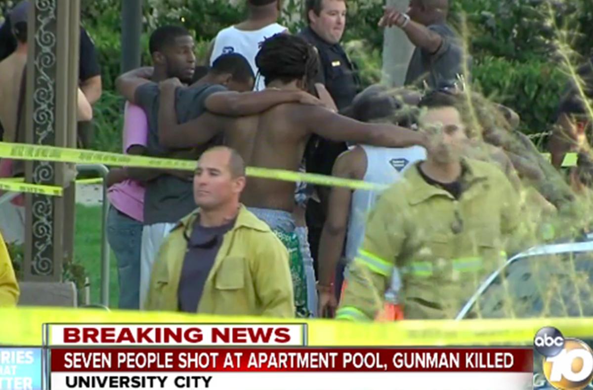 加州聖地亞哥槍擊案一死七傷 槍手遭擊斃
