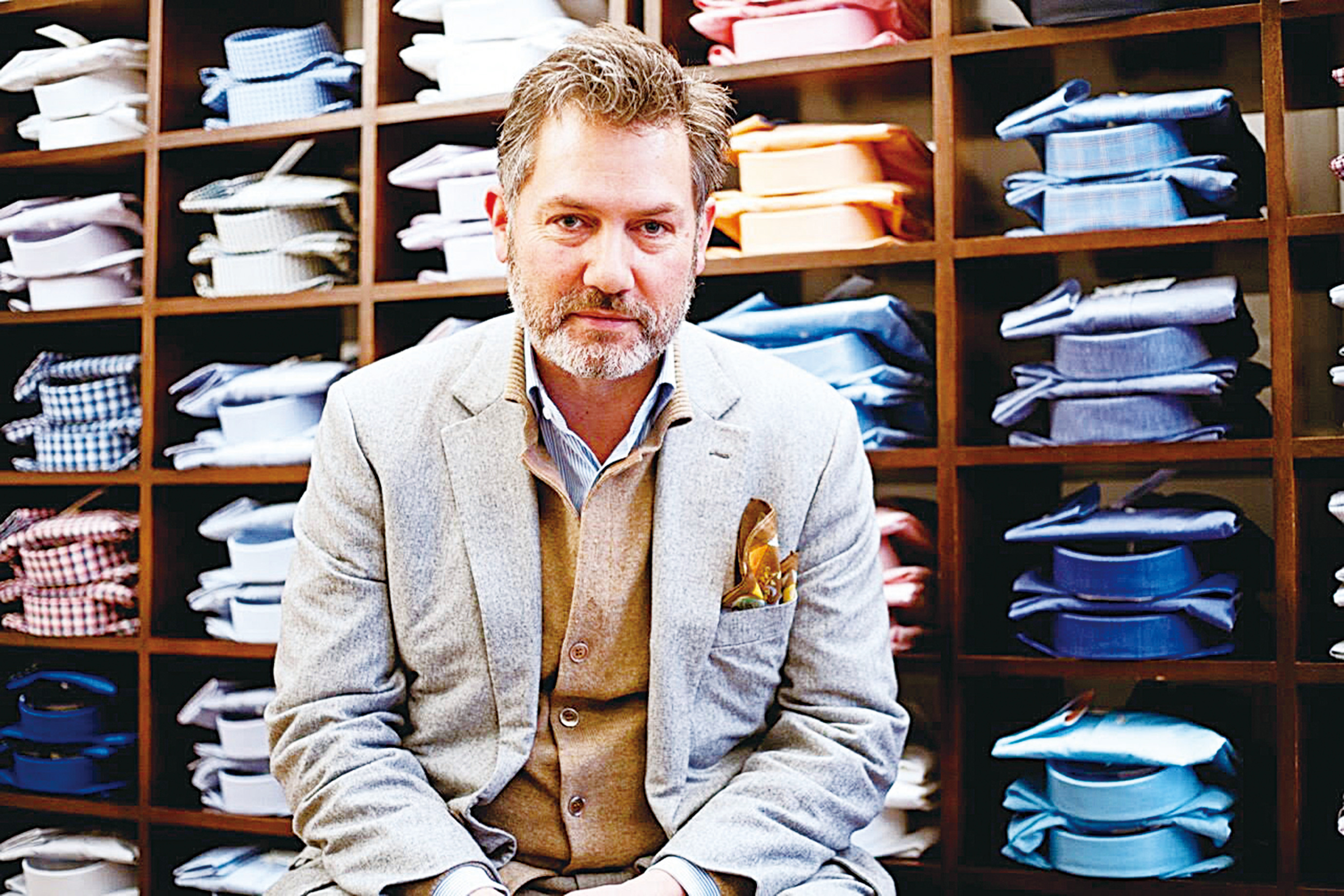 一生只做一件事 英國紳士恤衫EMMETT LONDON 的匠心精神(一)