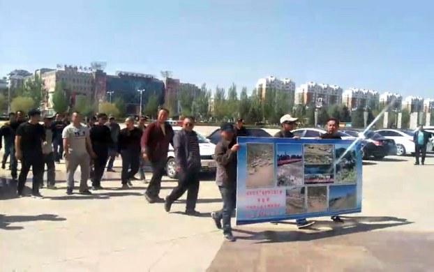 內蒙古數百農牧民抗議 促中共撤養豬場