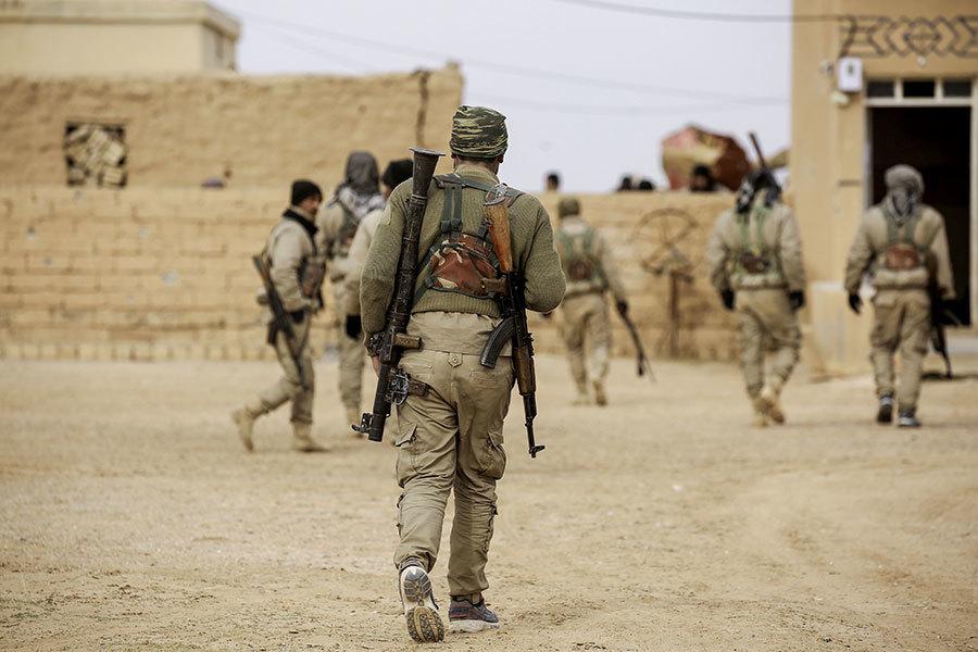 支持打擊IS 特朗普同意對庫爾德民兵提供武器