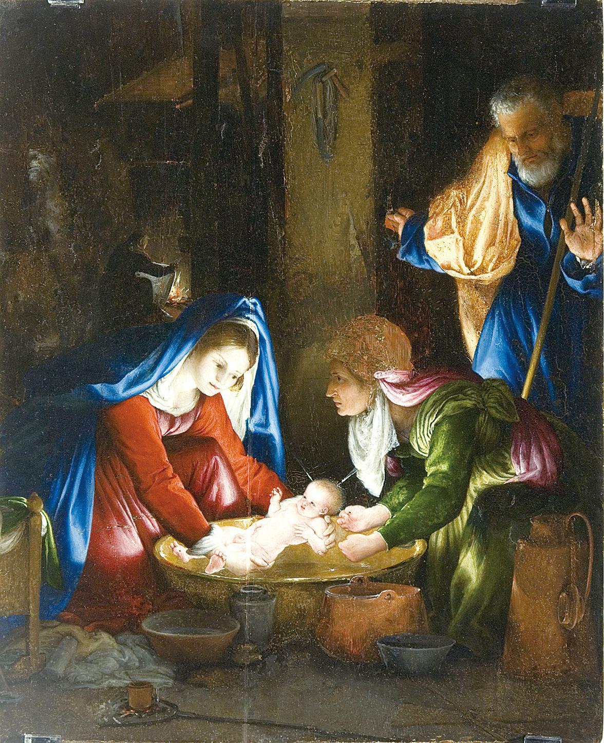 【藝術欣賞】耶誕與臍帶傳奇