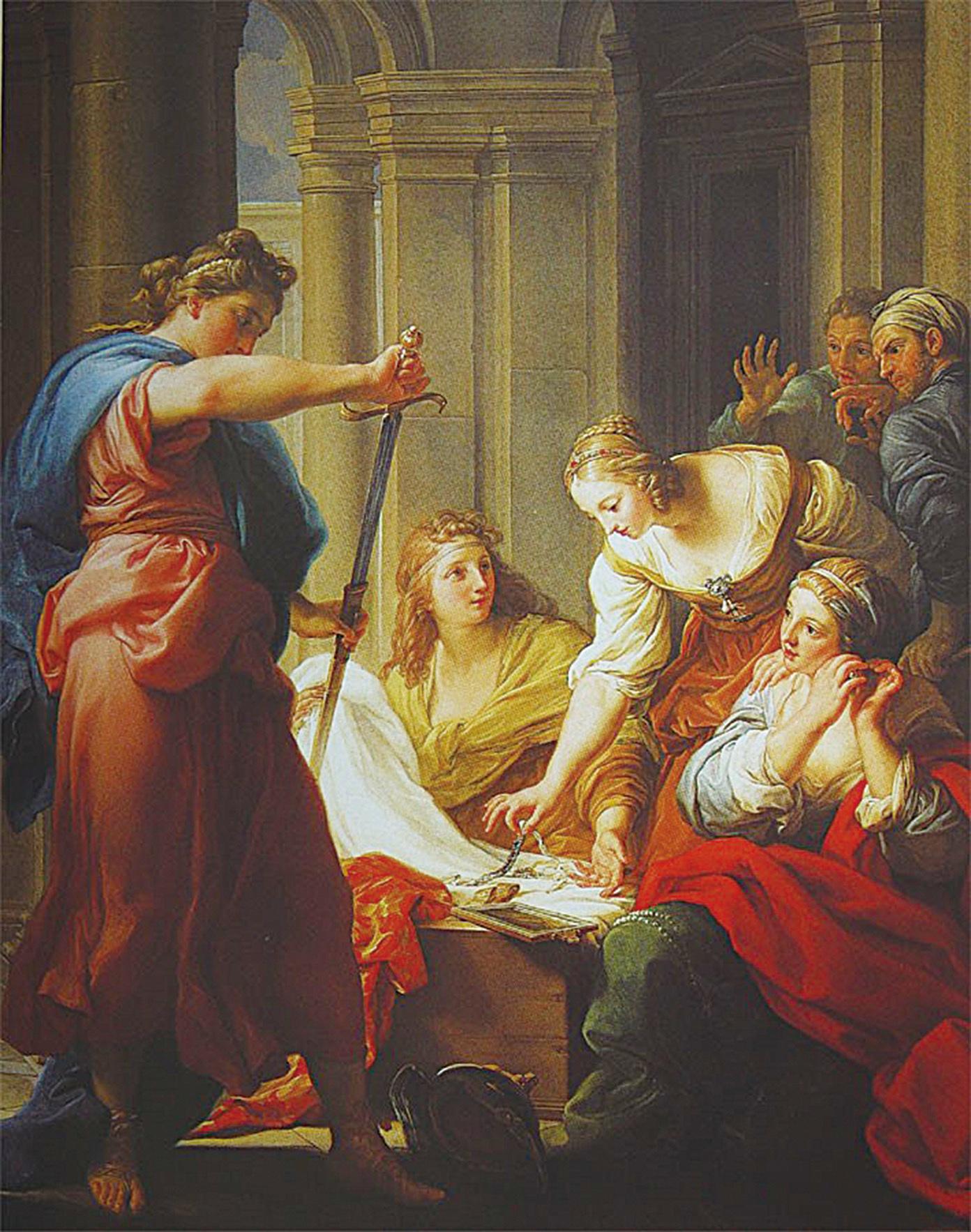 【畫中有話】阿基里斯在呂科墨得斯王宮