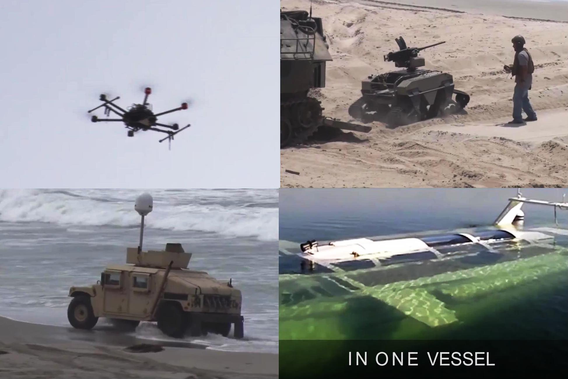 美陸戰隊新型武器曝光 超級快艇似007占士邦版