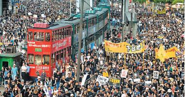 各地分社聯手  直擊報道全球華人反23條