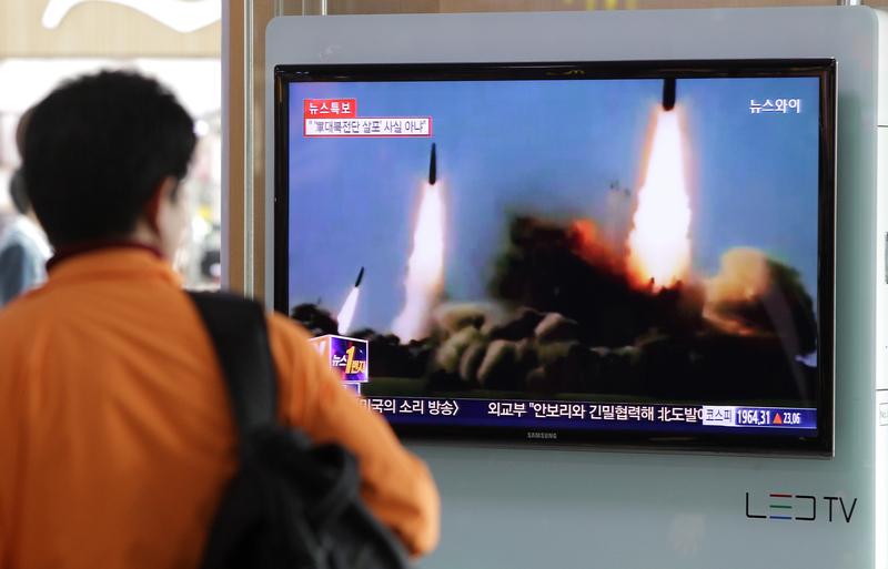 北韓再試射 疑似彈道導彈
