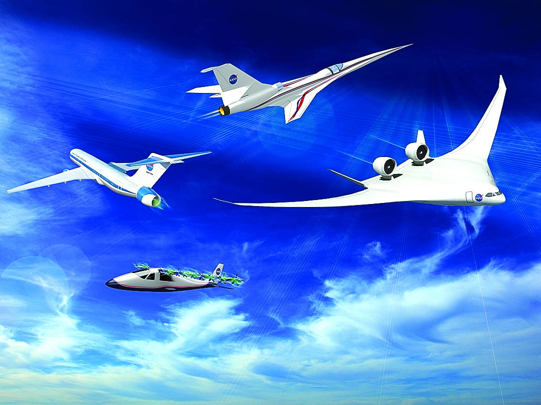 NASA巨資研發電動出租飛機