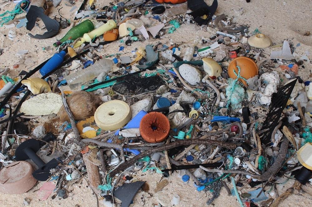 無人小島也難逃污染 垃圾密度全球最高