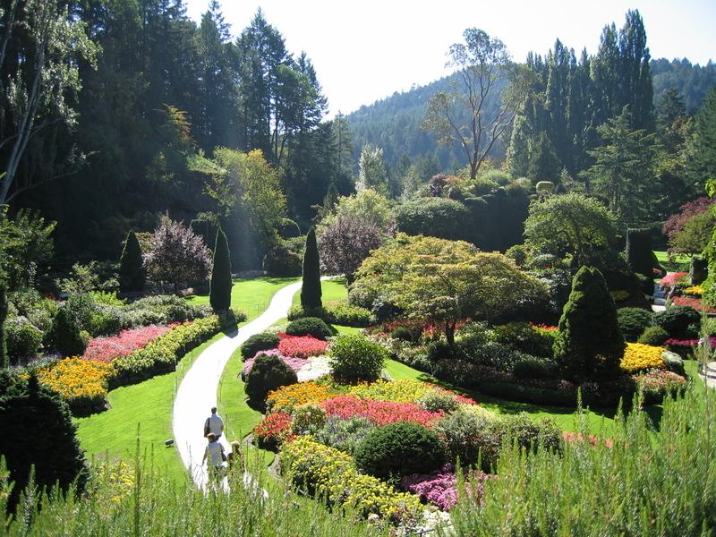 加拿大寶翠花園浪漫春天