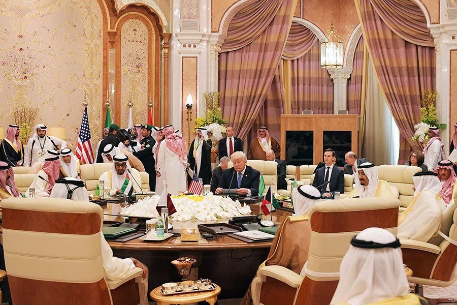 特朗普向五十穆斯林國領袖演講 籲剷除極端份子