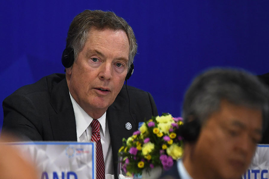 美國貿易代表說美國不會回到TPP