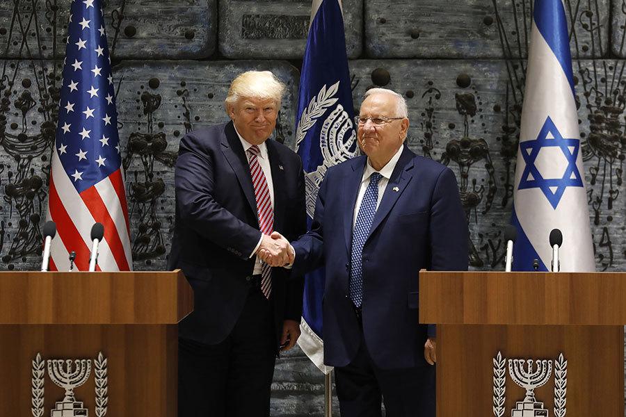 特朗普抵以色列 稱實現以巴和平機遇難得