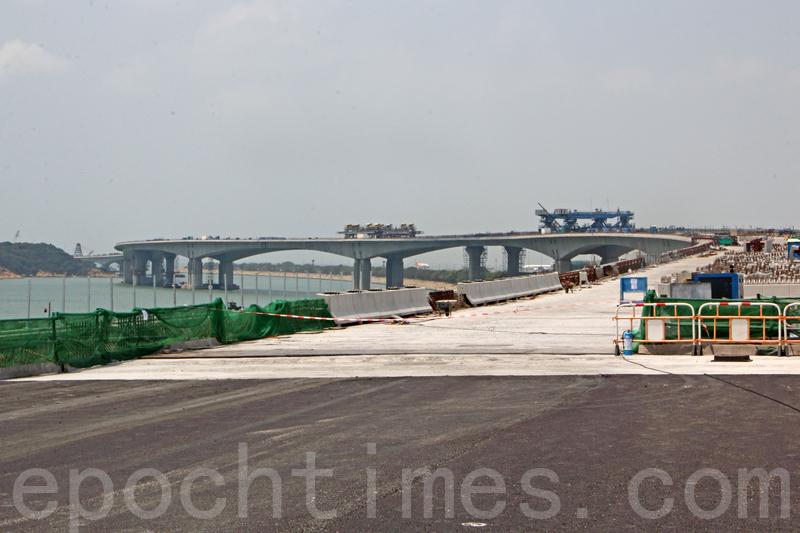 港珠澳大橋化驗涉造假 議員促重新檢查