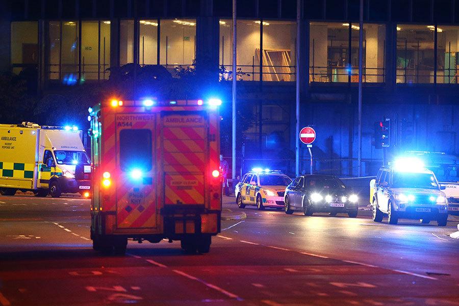 英警方稱獨狼襲擊者實施曼徹斯特恐襲