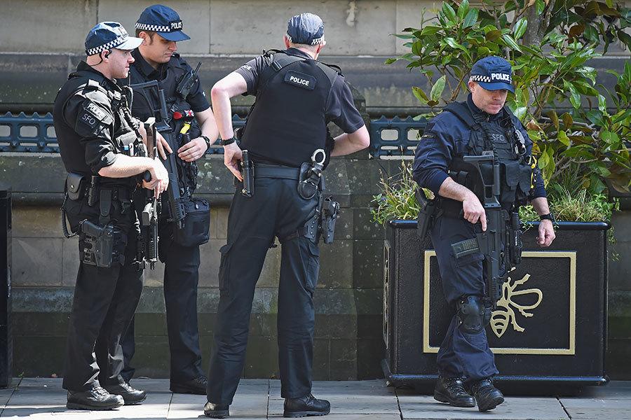 英曼徹斯特爆炸後 警方全城突擊搜索