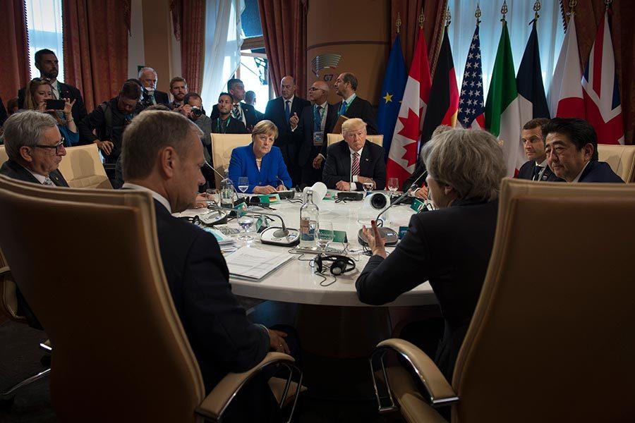 特朗普首次出訪劃下句點 展現美全球領導地位