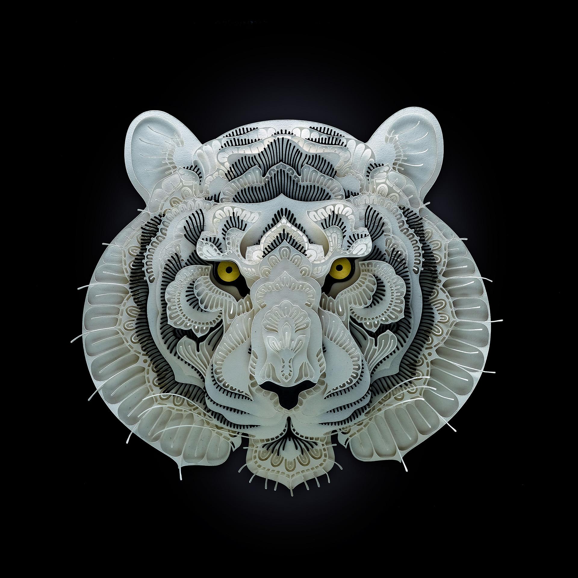 組圖:菲男創瀕危動物精緻紙雕 盼引關注