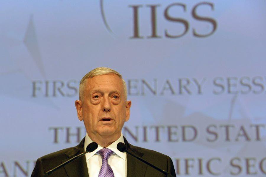 美防長:北韓是「緊迫的軍事威脅」