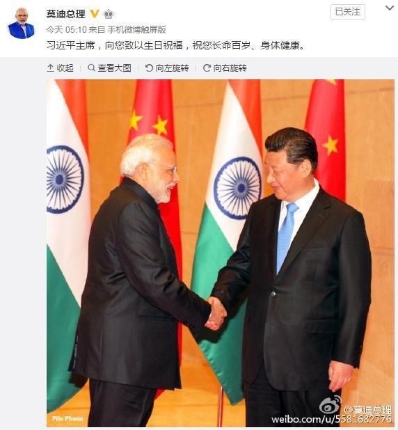 習近平會印度總理前 中印邊界再出狀況